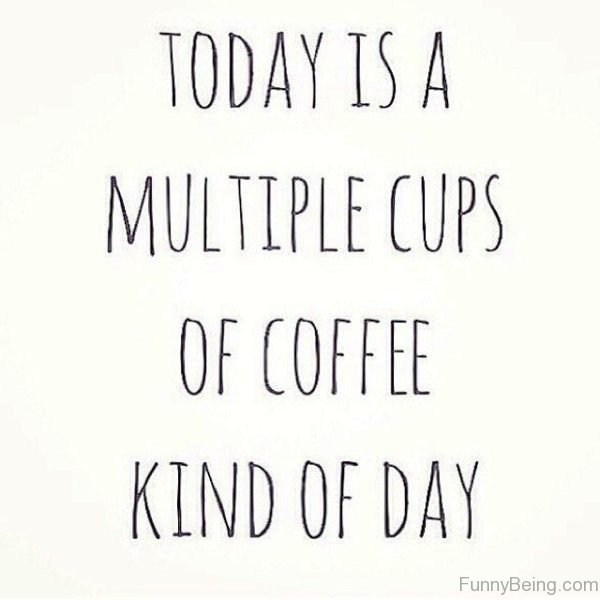 Today Is A Multiple Cups