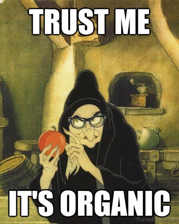 Trust Me It's Organic