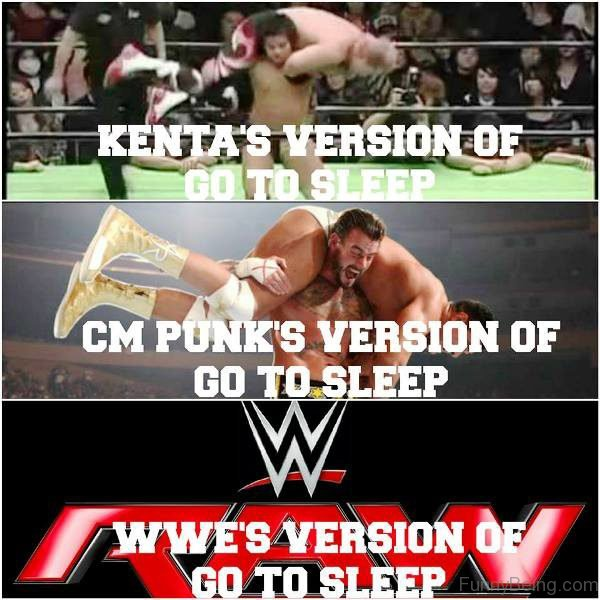 WWE'S Version Of Go To Sleep