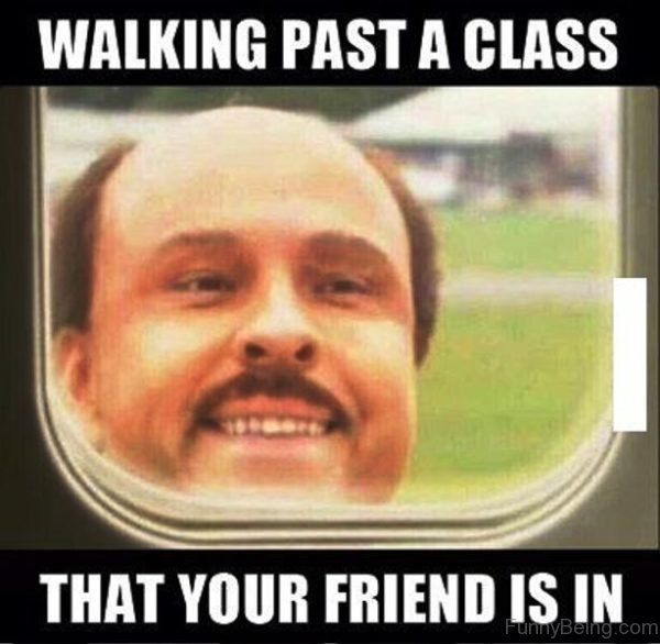 Walking Past A Class