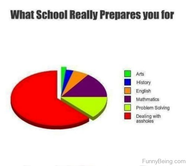 What School Really Prepares You For