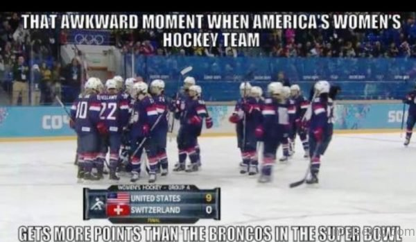 When America's Women's Hockey Team