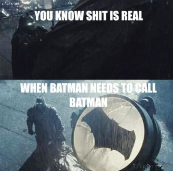 When Batman Needs To Call Batman