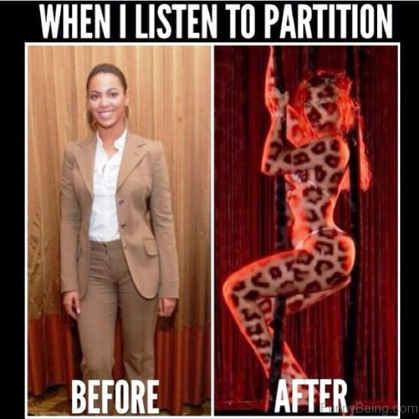 When I Listen To Partition