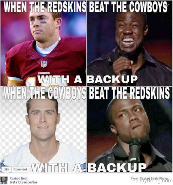 When The Redskins Beat The Cowboys 55 super nfl memes
