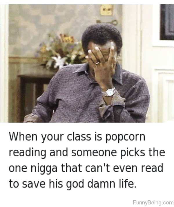 When Your Class Is Popcorn Reading