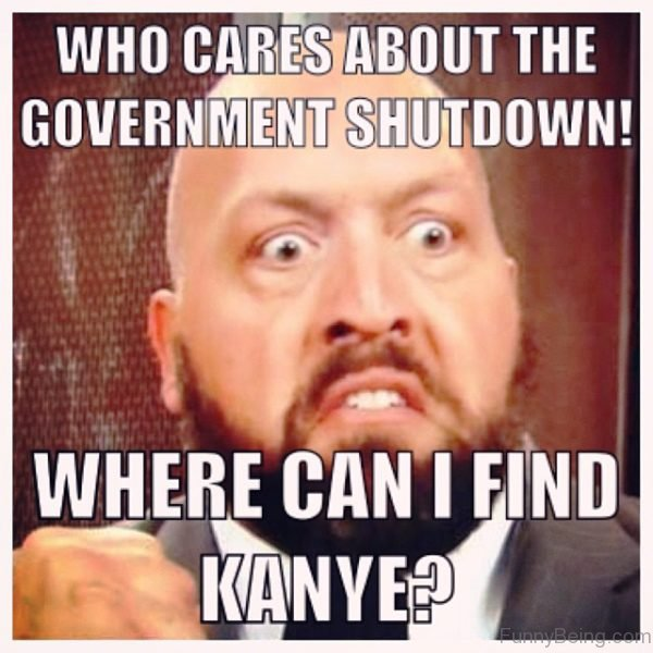 Who Cares About The Government Shutdown