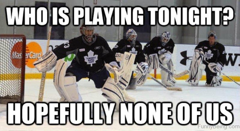 Who Is Playing Tonight 55 amazing hockey memes
