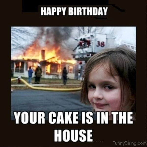 Your Cake Is In The House