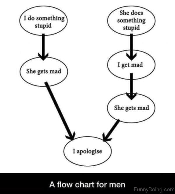 A Flow Chart For Men