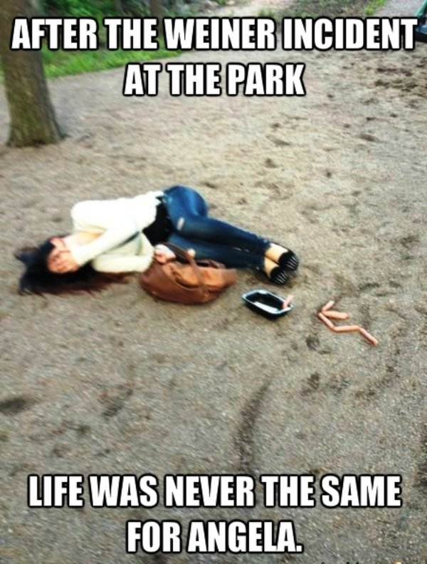 After The Weiner Incident At The Park