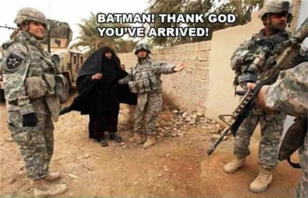 Batman Thank God You've Arrived
