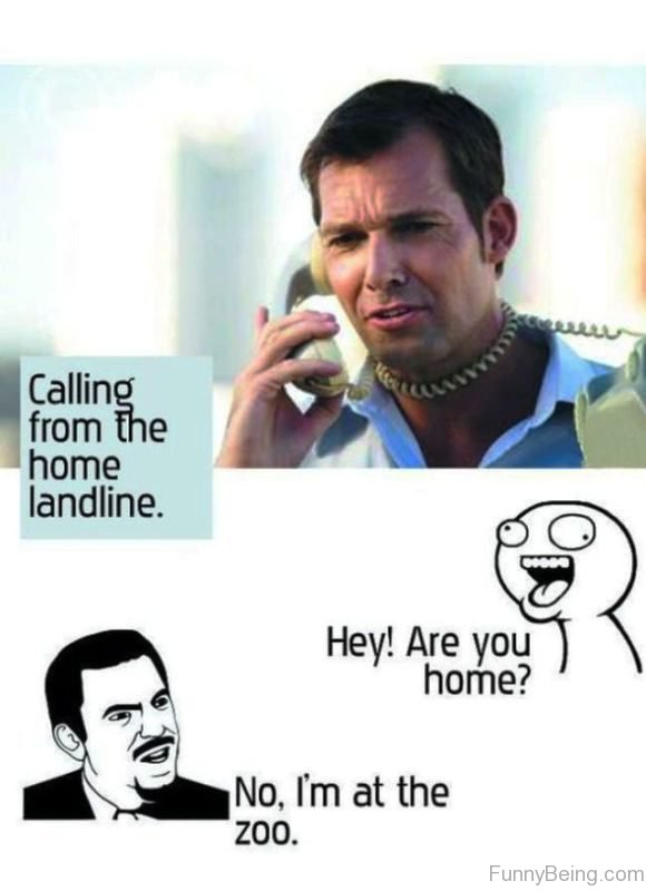 Calling From The Home Landline