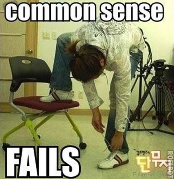 Common Sense Fails