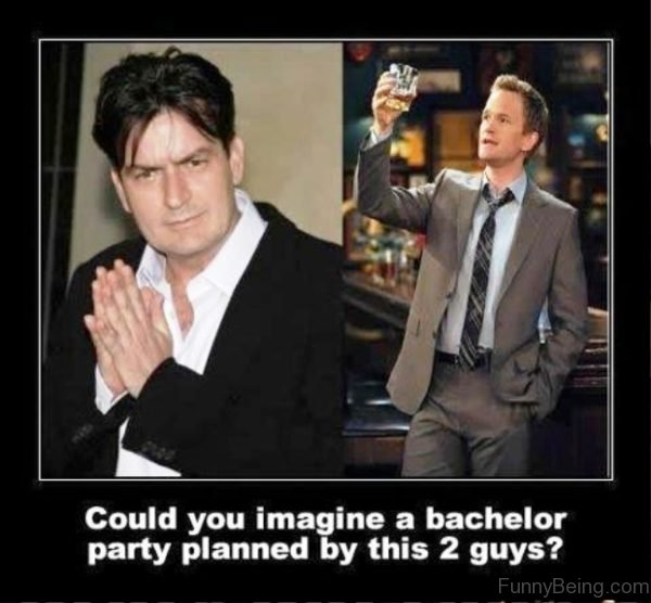 Could You Imagine A Bachelor Party