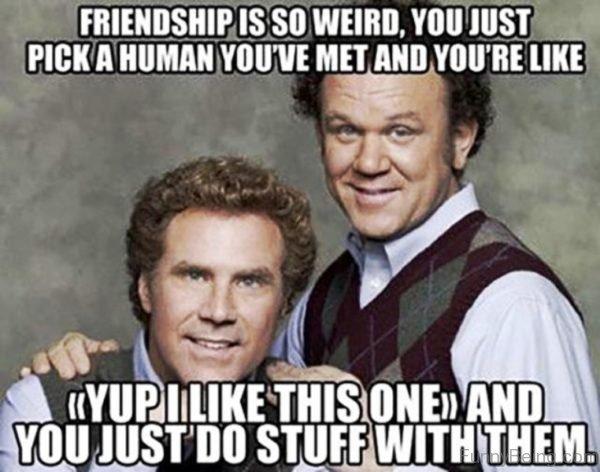 Friendship Is So Weird