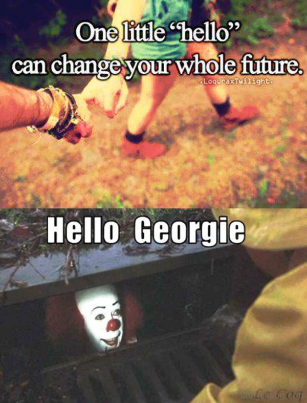Hello Georgie