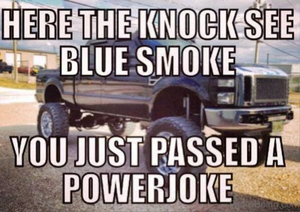 Here The Knock See Blue Smoke