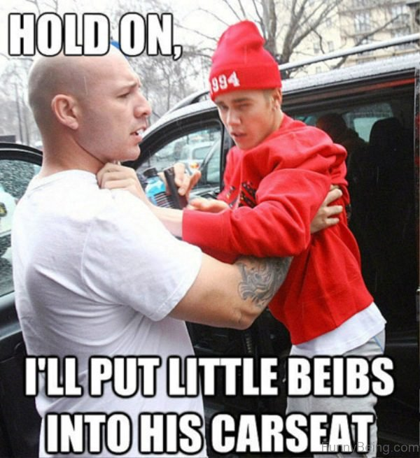 Hold On I'll Put Little Beibs