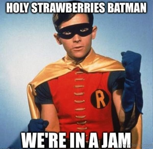 Holy Strawberries Batman
