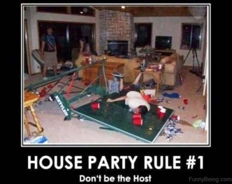 Funny Memes About House: 50 Best Collection Of Party Memes