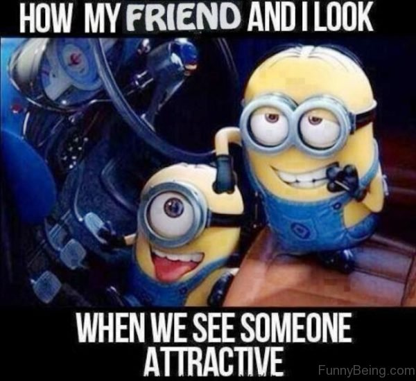 How My Friend And I Look