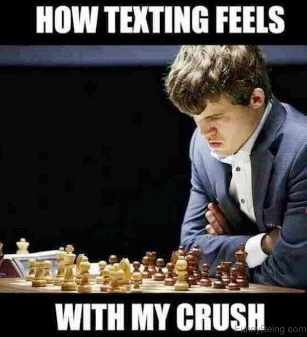 How Texting Feels With My Crush