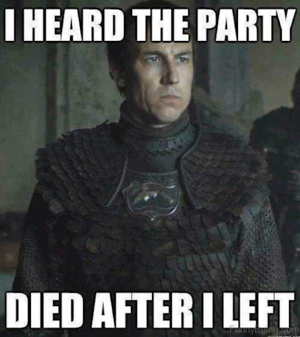 I Heard The Party