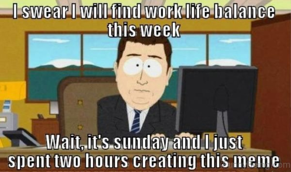 I Swear I Will Find Work Life