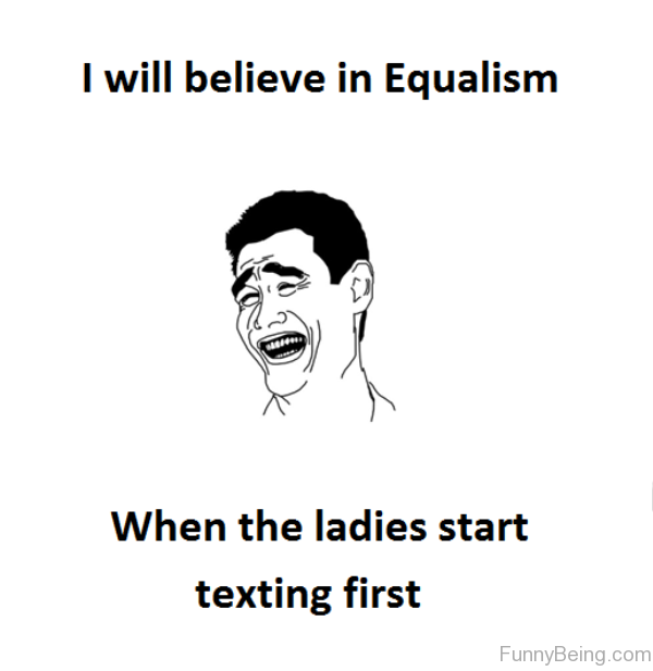 I Will Believe In Equalism