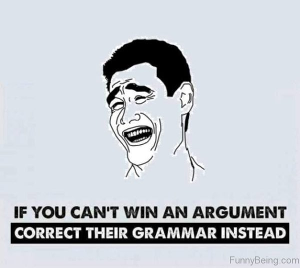 If You Cant Win An Argument