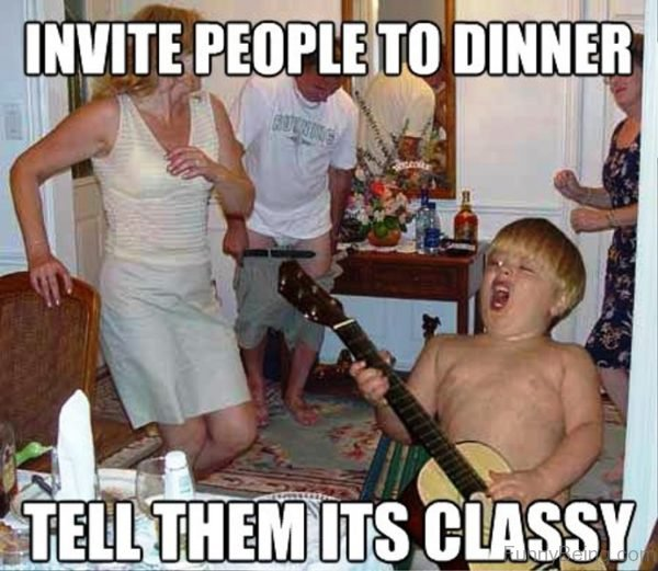 Invite People To Dinner