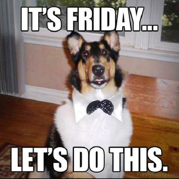 It's Friday Lets Do This