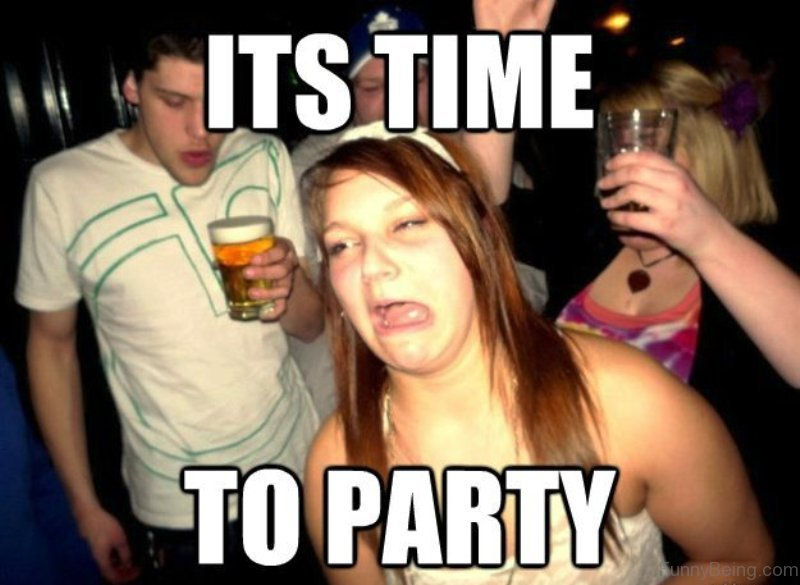 Funny Meme For Girl : 50 best collection of party memes