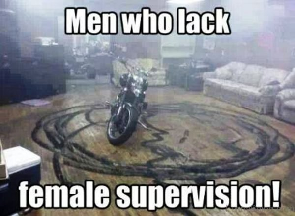 Men Who Lack Female Supervision