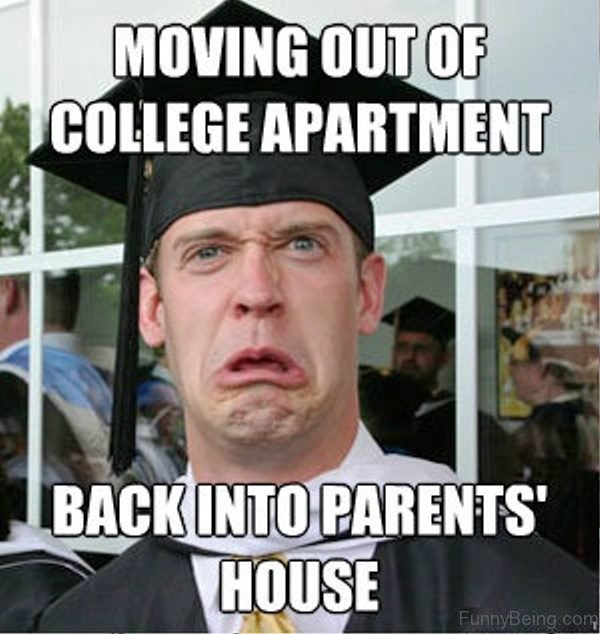 Moving Out Of College Apartment