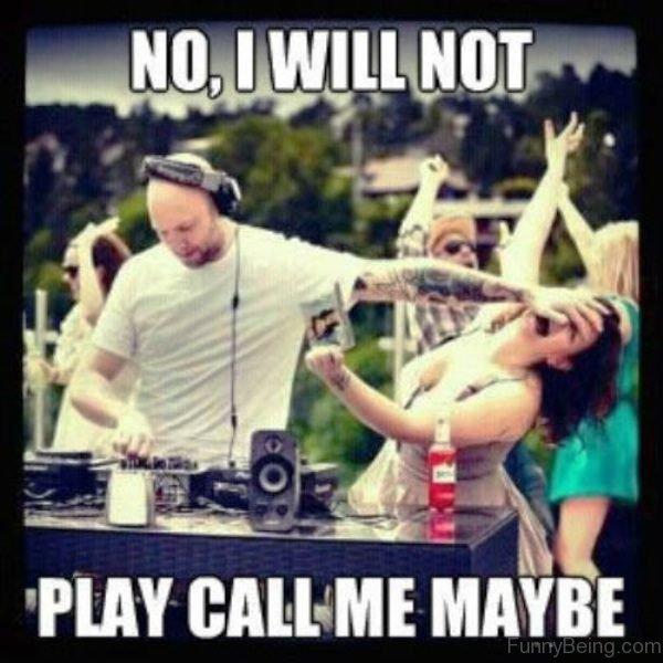 No I Will Not Play