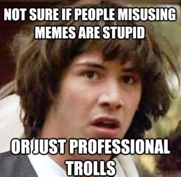 Not Sure If People Misusing Memes