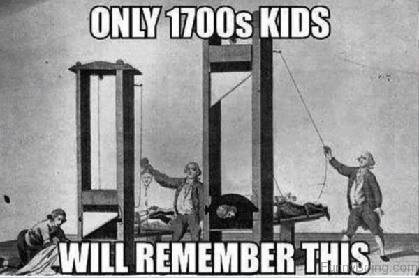 Only 1700s Kids
