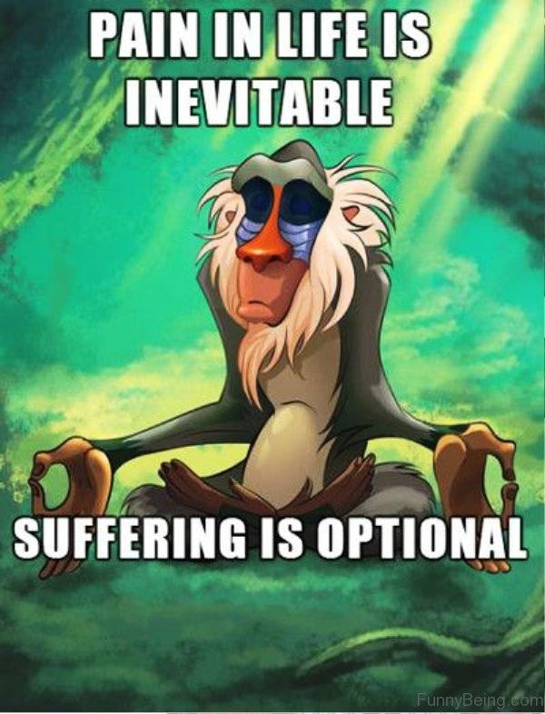 Pain In Life Is Inevitable