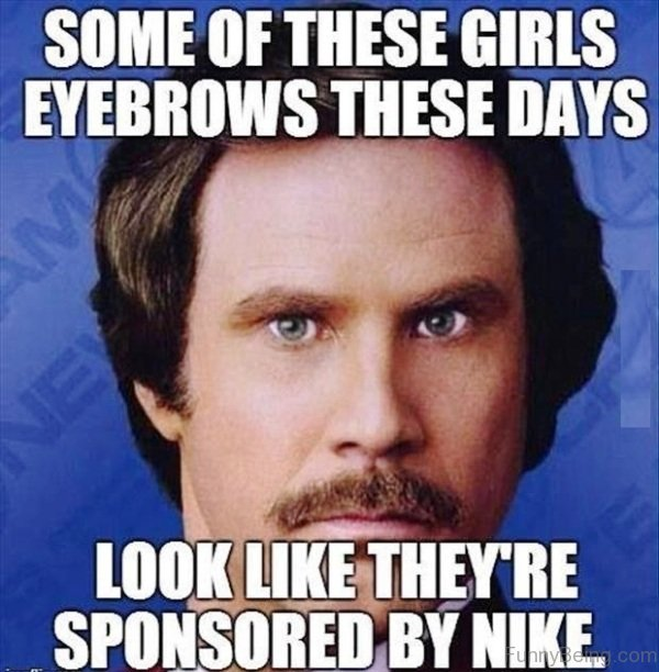 Some Of These Girls Eyebrows 80 funny stupid memes for you,Stupid Memes