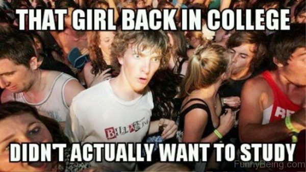 That Girl Back In College