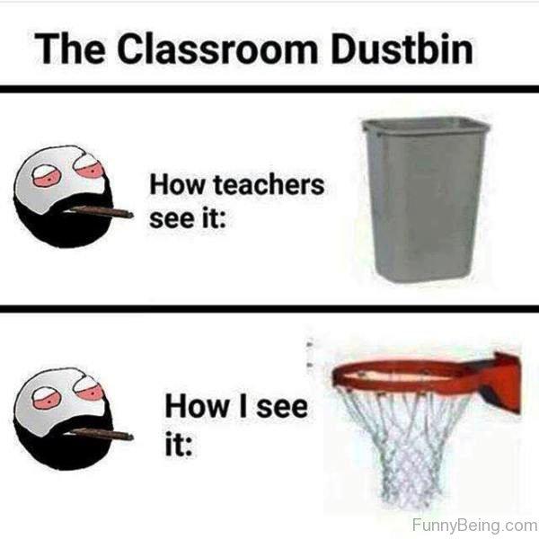The Classroom Dustbin