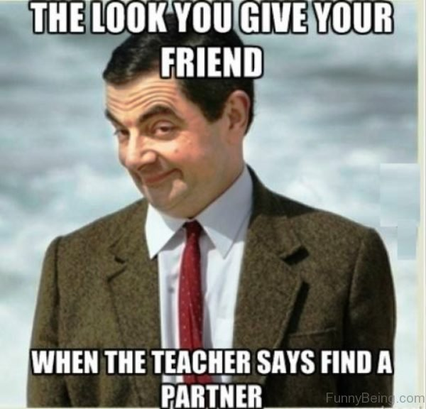 The Look You Give Your Friend