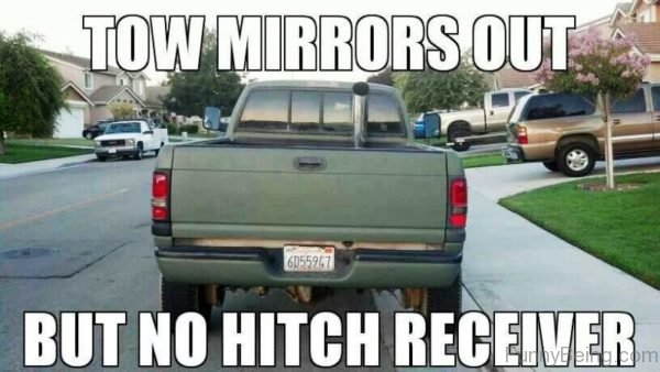 Tow Mirrors Out