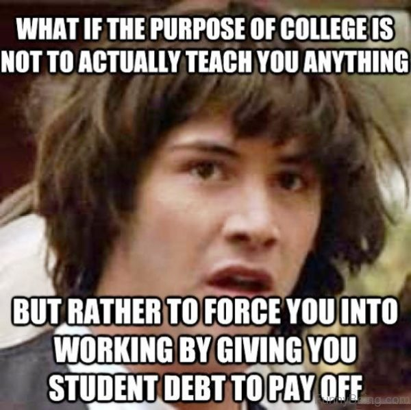 What If The Purpose Of College