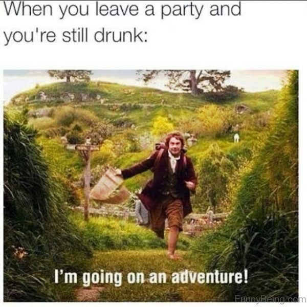 When You Leave A Party