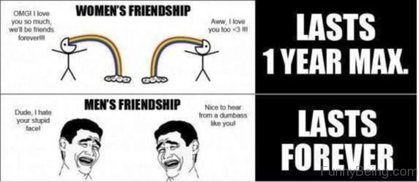 Women's Friendship Vs Men's Friendship