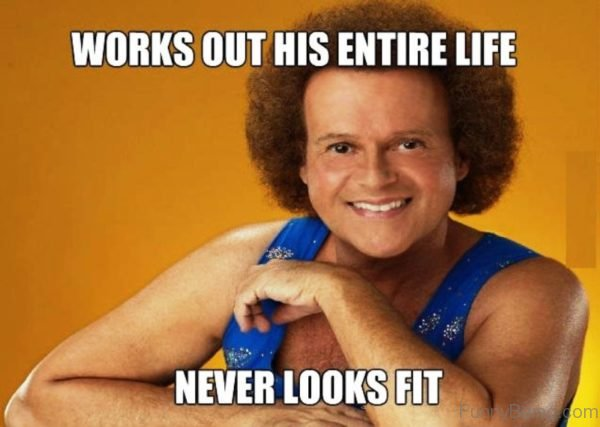 Works Out His Entire Life