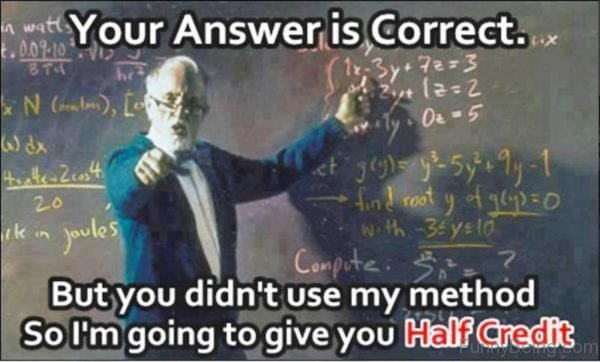 Your Answer Is Correct